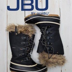 JBU Edith Style winter boots with faux fur